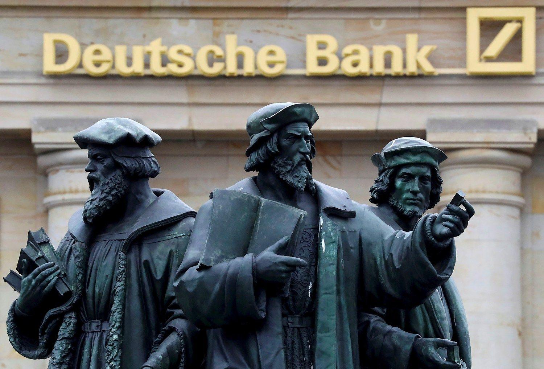 �Deutsche Bank� paneig� prognozes ir dirbo pelningai