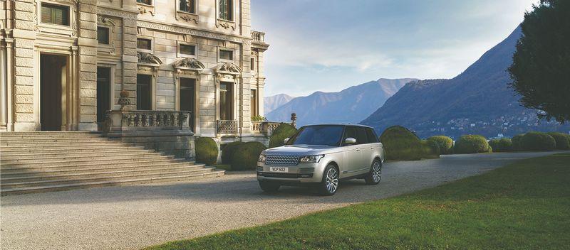 Land Rover Range Rover. Gamintojo nuotr.