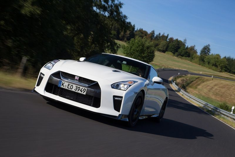 """Nissan GT-R Track Edition"". Gamintojo nuotr."