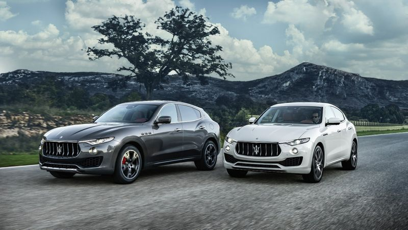 """Maserati Levante"". Gamintojo nuotr."