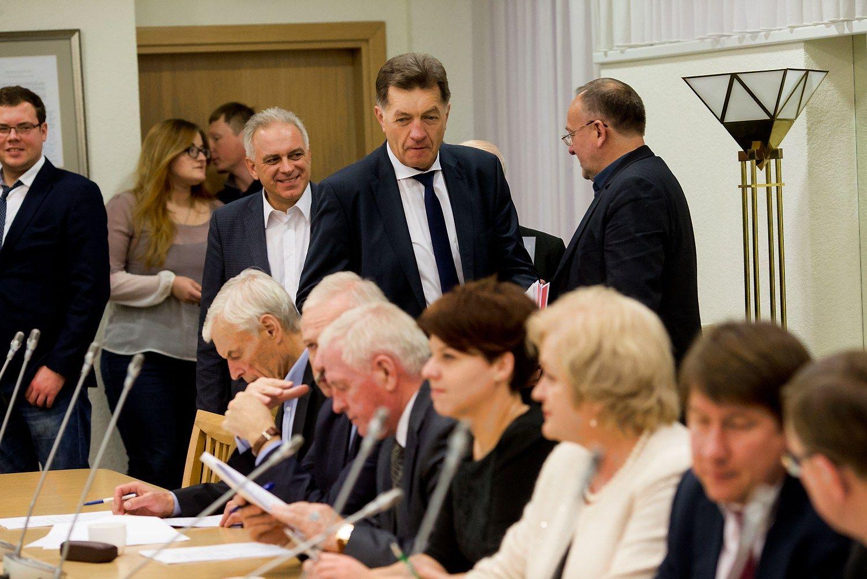 Socialdemokratai pradės derybas su valstiečiais-žaliaisiais