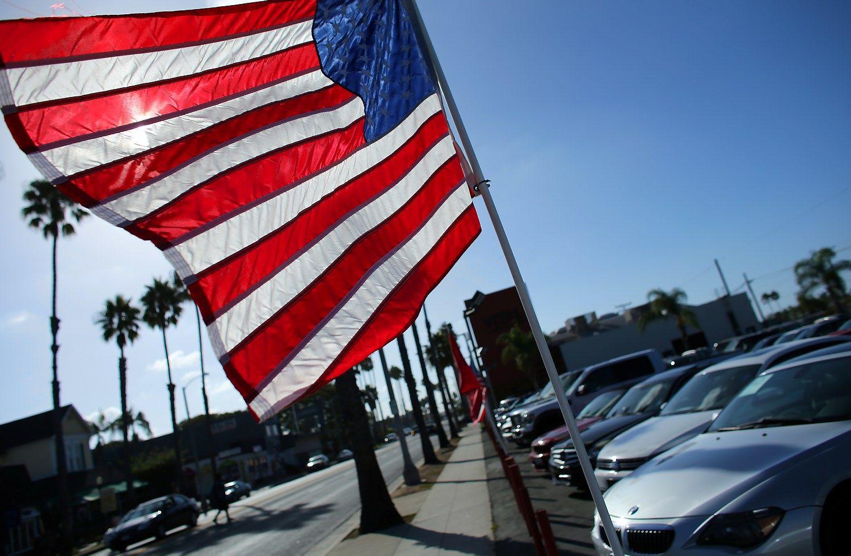 JAV ūkis augo sparčiau nei tikėtasi
