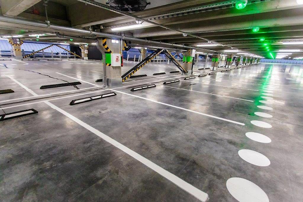 """""""Megos"""" plėtra: atidaryta 800 vietų antžeminė automobilių aikštelė"""