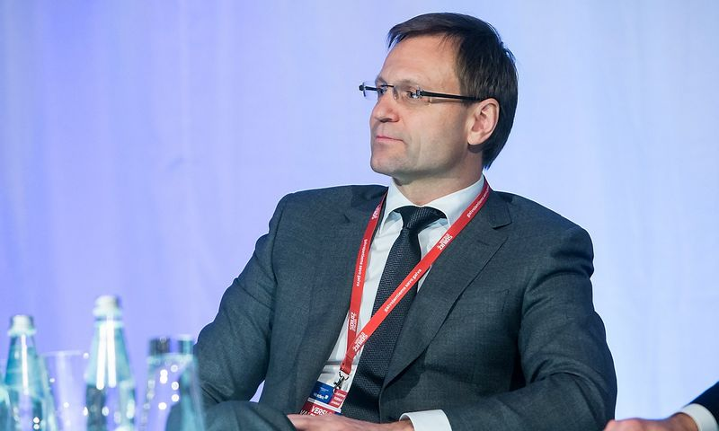 """Darius Zubas, AB """"Linas Agro Group"""" generalinis direktorius, valdybos pirmininkas ir pagrindinis akcininkas. Juditos Grigelytės (VŽ) nuotr."""