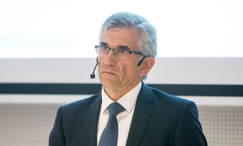 """Gintautas Galvanauskas, banko """"Danske bank"""" generalinis direktorius. Juditos Grigelytės (VŽ) nuotr."""