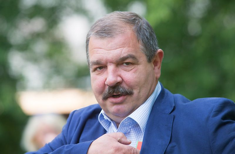 Juditos Grigelytės (VŽ) nuotr. Artūras Černiauskas, Lietuvos profesinių sąjungų konfederacijos vadovas