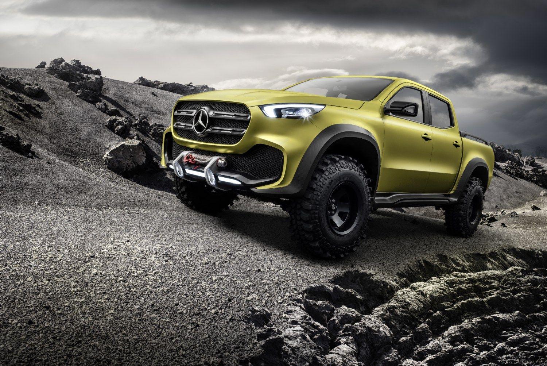 �Mercedes-Benz� panoro pikapo - bendradarbiaus su �Renault-Nissan�