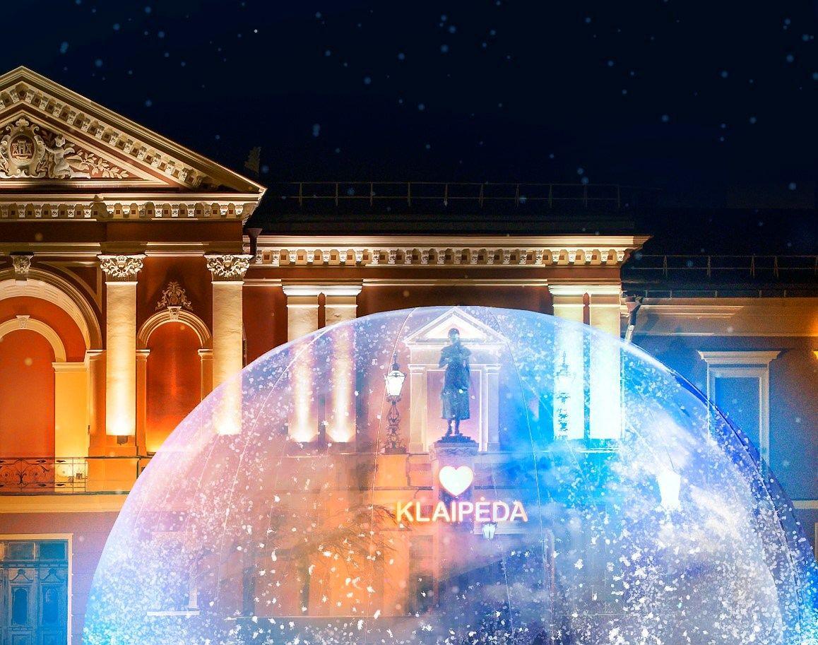 Kalėdoms besiruošianti Klaipėda žada intriguojantį projektą