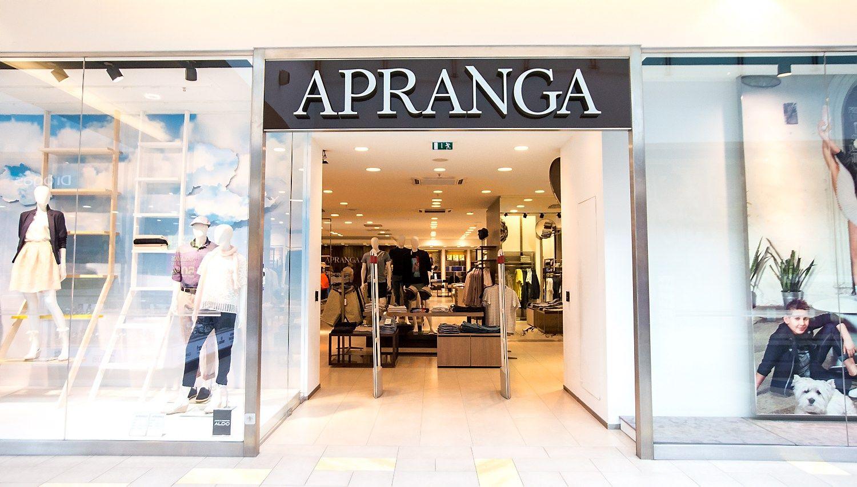"""""""Apranga"""" pelną didino daugiau nei 1 mln. Eur"""