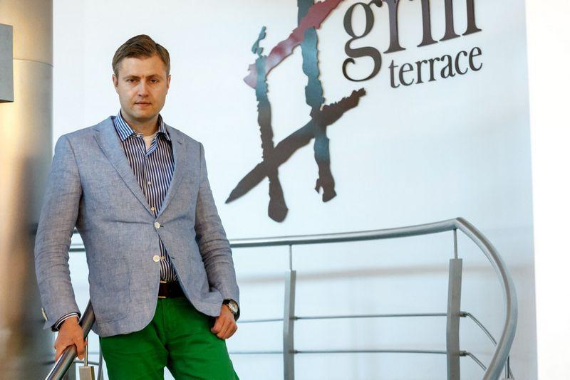 """Gediminas Balnis, UAB """"Amber Food"""" direktorius: """"2017 m. plėsimės nedaug – """"Amber Food"""" restoranų skaičius turėtų padidėti 10%"""". Vladimiro Ivanovo (VŽ) nuotr."""