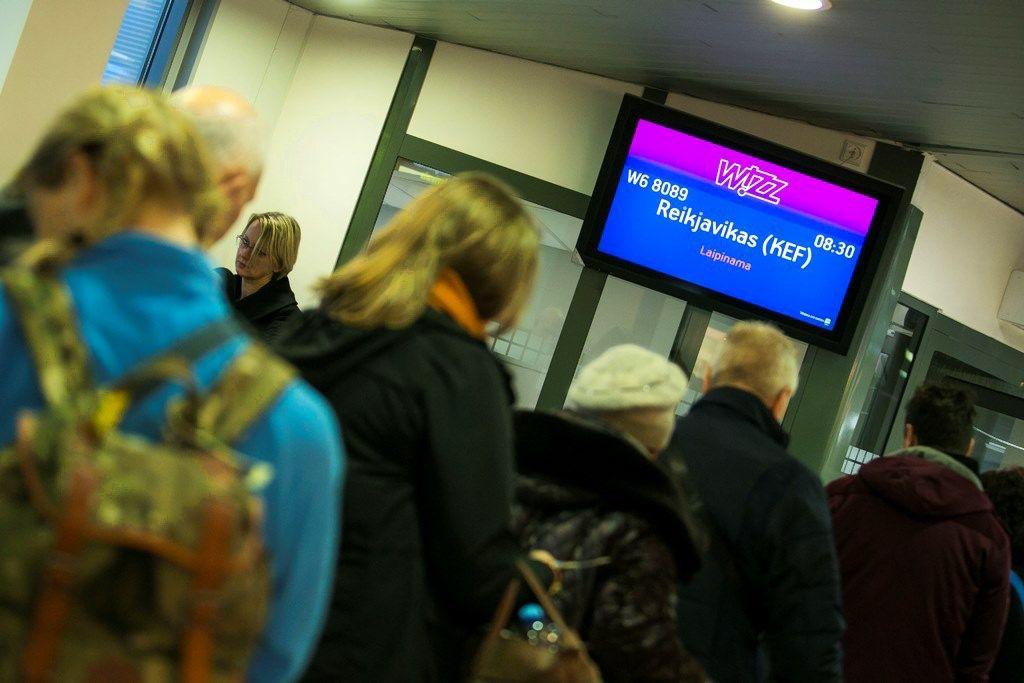 Pradėti skrydžiai iš Vilniaus į Reikjaviką