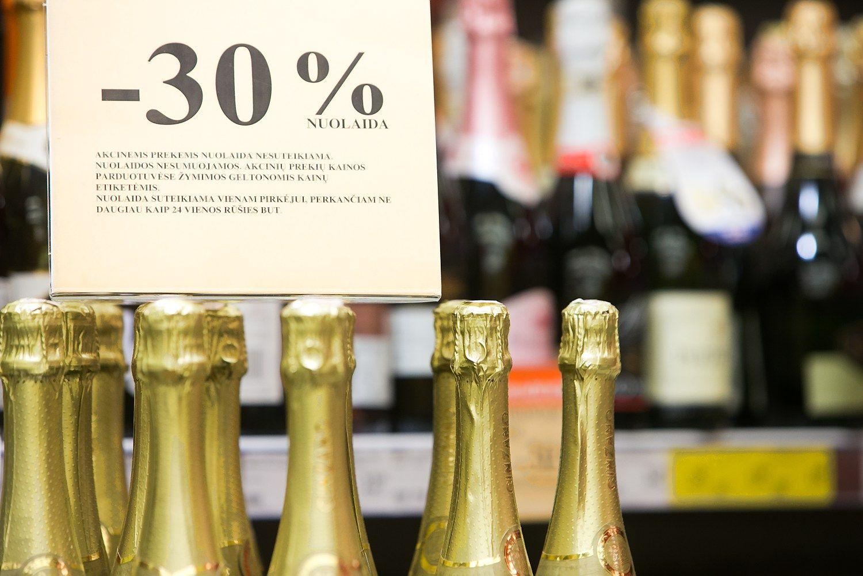 Įsigalioja alkoholio akcijų draudimas