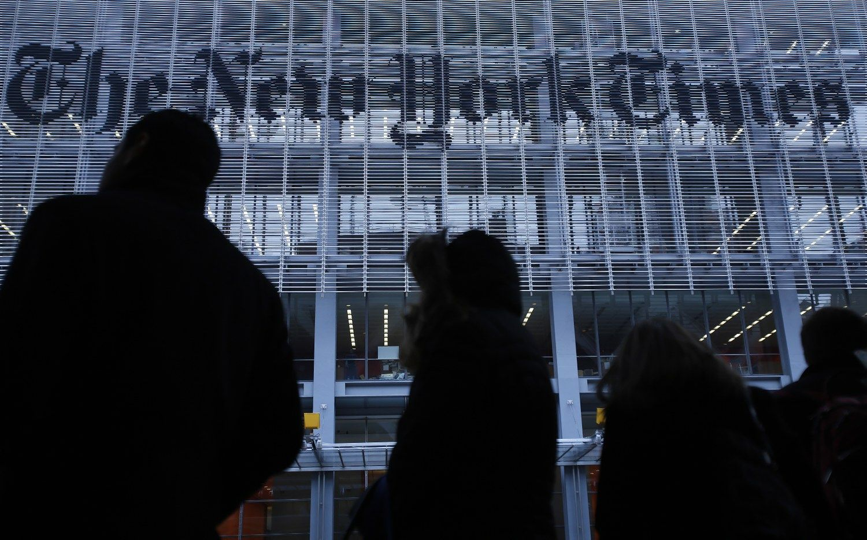 """Per ketvirtį """"New York Times"""" pajamos iš spausdintos reklamos smuko 18,5%"""