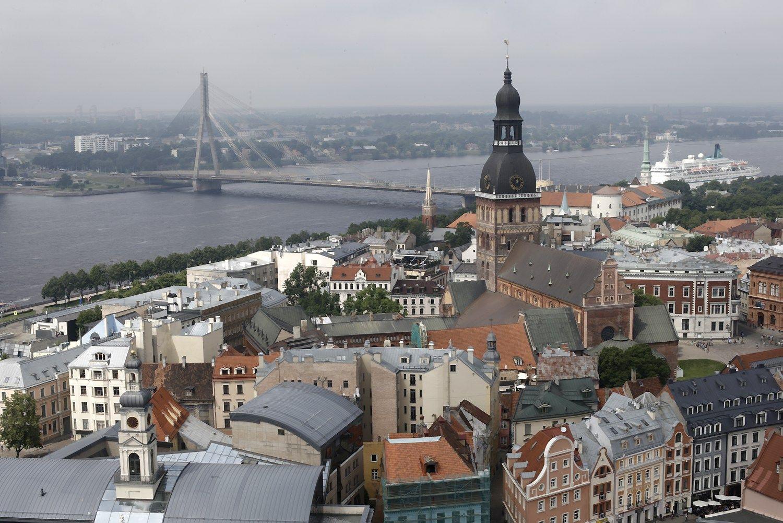 Latvijos BVP augo dvigubai lėčiau nei Lietuvos