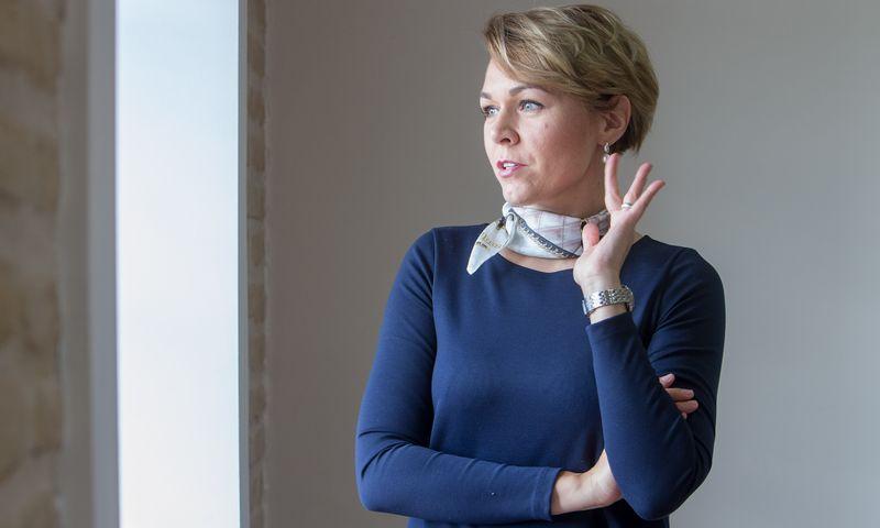 """Goda Aženeckaitė-Petravičienė, konsultacijų bendrovės """"Grand partners"""", direktorė, sako, kad versle viską reikia planuoti iš anksto. Galimas skyrybas taip pat. Juditos Grigelytės (VŽ) nuotr."""