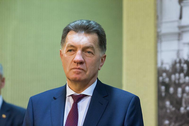 Algirdas Butkevičius, premjeras, Socialdemokratų partijos pirmininkas. Vladimiro Ivanovo (VŽ) nuotr.