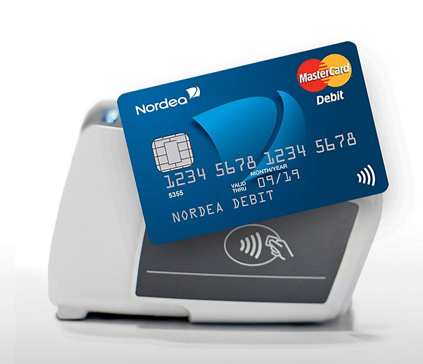 """Nordea"" pasiūlė bekontaktę kortelę"