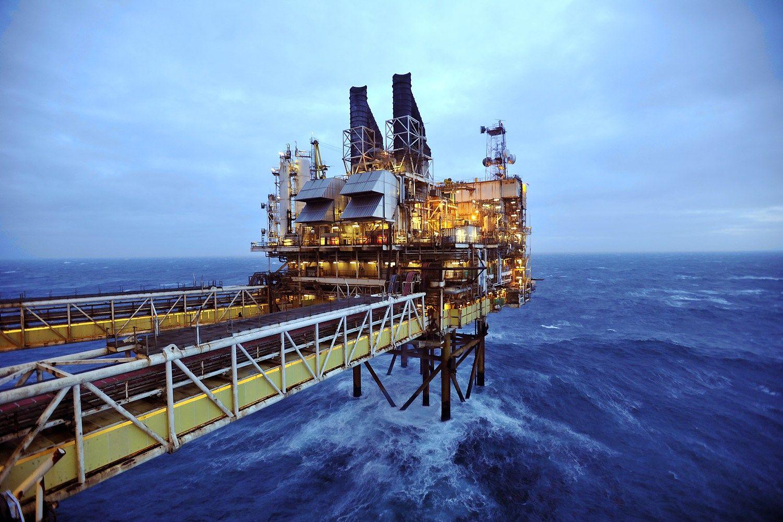 Šiaurės jūroje laukiama naftos gavybos rekordo