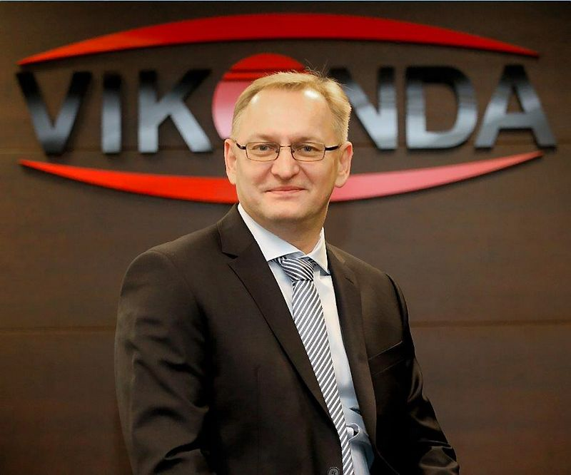 """Gintaras Jasionis, bendrovių """"Vikonda"""" ir """"Kėdainių konservų fabrikas"""" vadovas. Algimanto Barzdžiaus nuotr."""