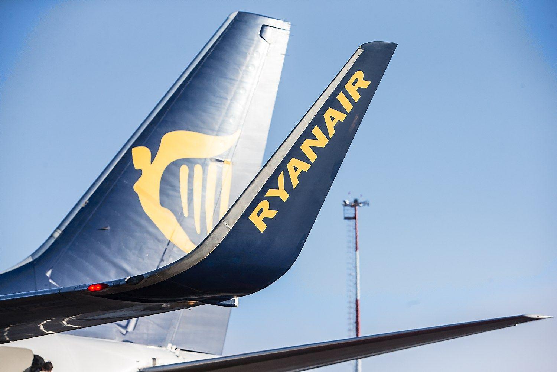 """""""Ryanair"""" pelnas pirmą pusmetį augo 7%"""