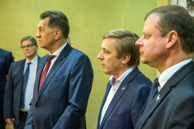 Socialdemokratai deleguos tris ministrus, valstiečiai-žalieji – likusius