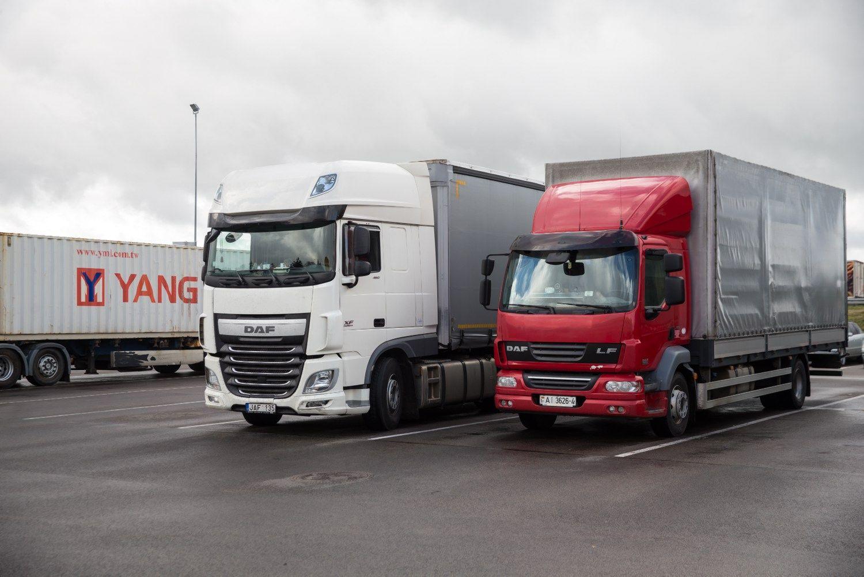 Vežėjai vairuotojams Vokietijoje turės mokėti daugiau