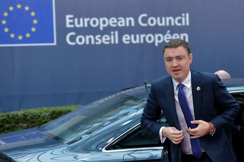 """Taavi Roivas, Estijos premjeras. Erico Vidalo (""""Reuters"""" / """"Scanpix"""") nuotr."""