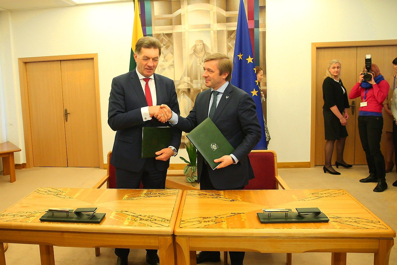 Pasirašyta koalicijos sutartis, Seimo pirmininku taps Pranckietis