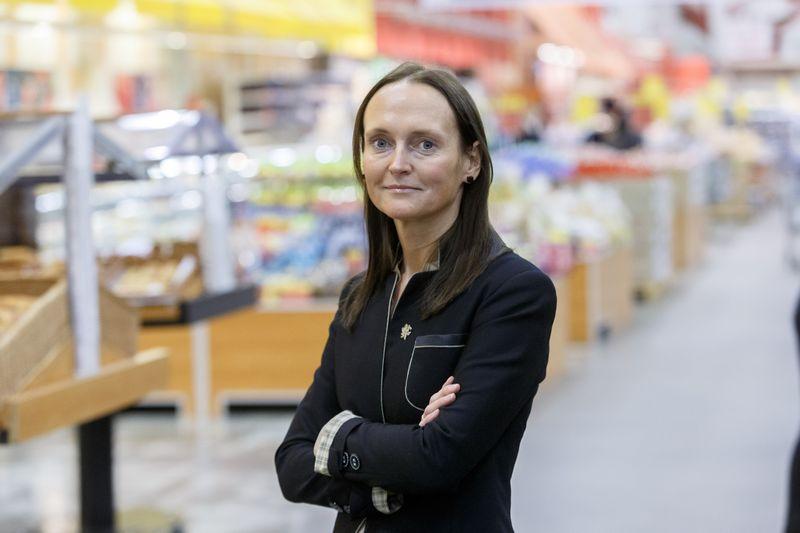 """Kristina Mažeikytė, """"Maximos"""" rinkodaros direktorė: """"Kiti metai bus dar didesnių inovacijų laikas, nuo masinių segmentų žengiame link bendravimo su tiksliniais vartotojais."""" Vladimiro Ivanovo (VŽ) nuotr."""