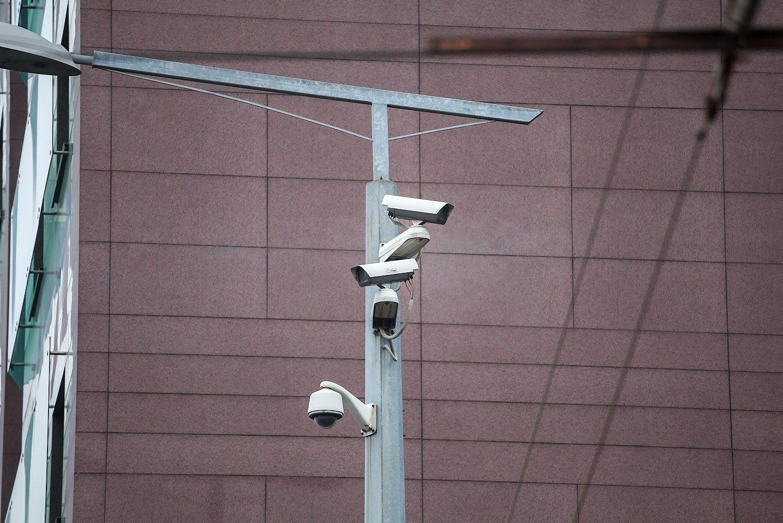 Vilniaus valdžia perka 100 stebėjimo kamerų