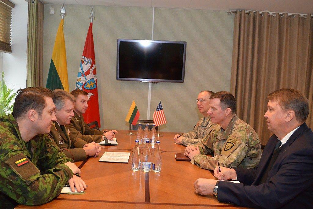 Amerikiečių generolas: JAV plės karinį bendradarbiavimą su Lietuva