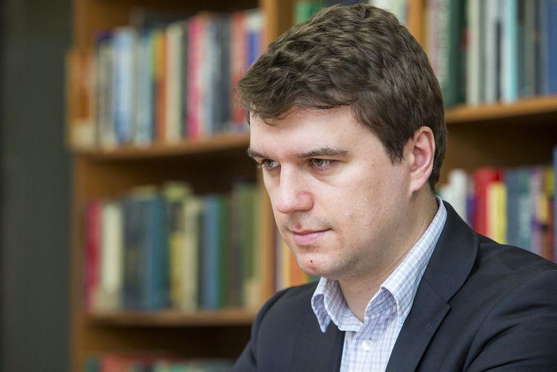 Žilvinas Šilėnas, Lietuvos laisvosios rinkos instituto prezidentas. Vladimiro Ivanovo (VŽ) nuotr.