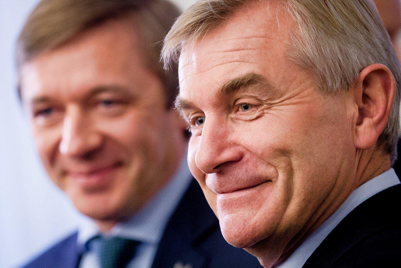 Seimo pirmininku išrinktas Viktoras Pranckietis