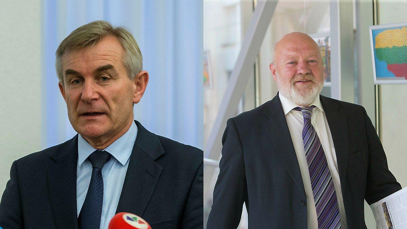 Į Seimo pirmininkus iškelti du kandidatai