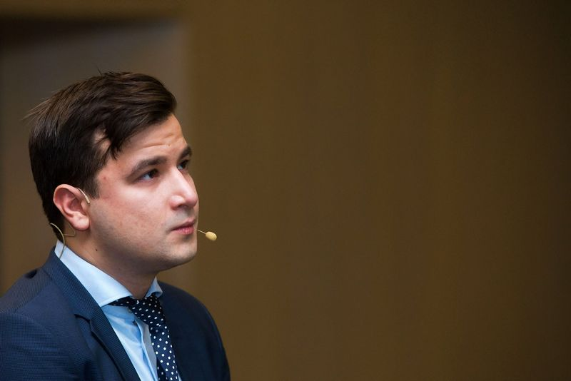 Povilas Stankevičius, DNB banko rinkų analitikas. Vladimiro Ivanovo ( VŽ) nuotr.