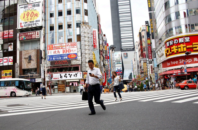 Japonijos ekonomika sutriuškino prognozes: augo 2,2%