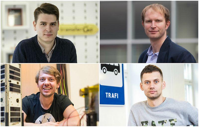 Daumantas Dvilinskas, Vaidas Adomauskas, Vytenis Buzas ir Martynas Gudonavičius.
