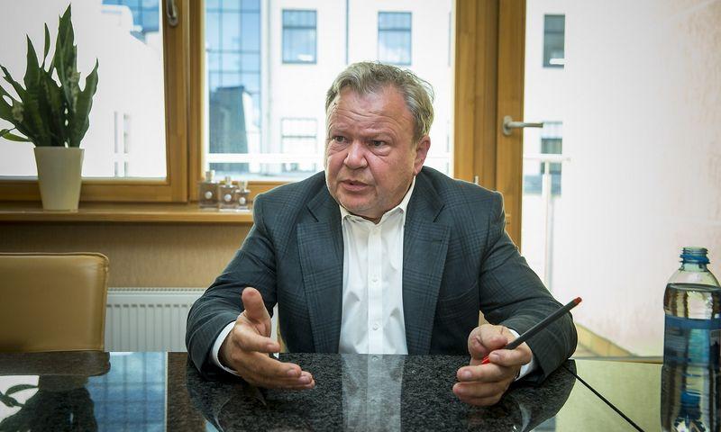"""Benas Gudelis, UAB """"Kristiana"""" akcininkas, UAB """"Fragrances International"""" pagrindinis akcininkas bei vadovas. Vladimiro Ivanovo (VŽ) nuotr."""