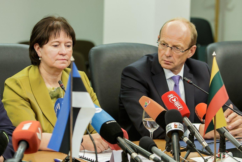 VTEK: su verslininkais vakarieniavę Baltraitienė ir Milius įstatymo nepažeidė