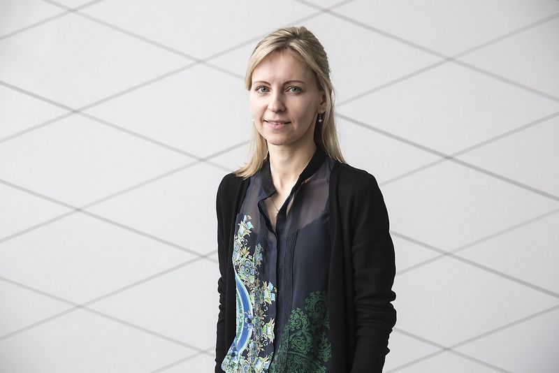"""Agnė Anzelienė, """"Swedbank"""" finasų maklerė. Vladimiro Ivanovo (VŽ) nuotr."""