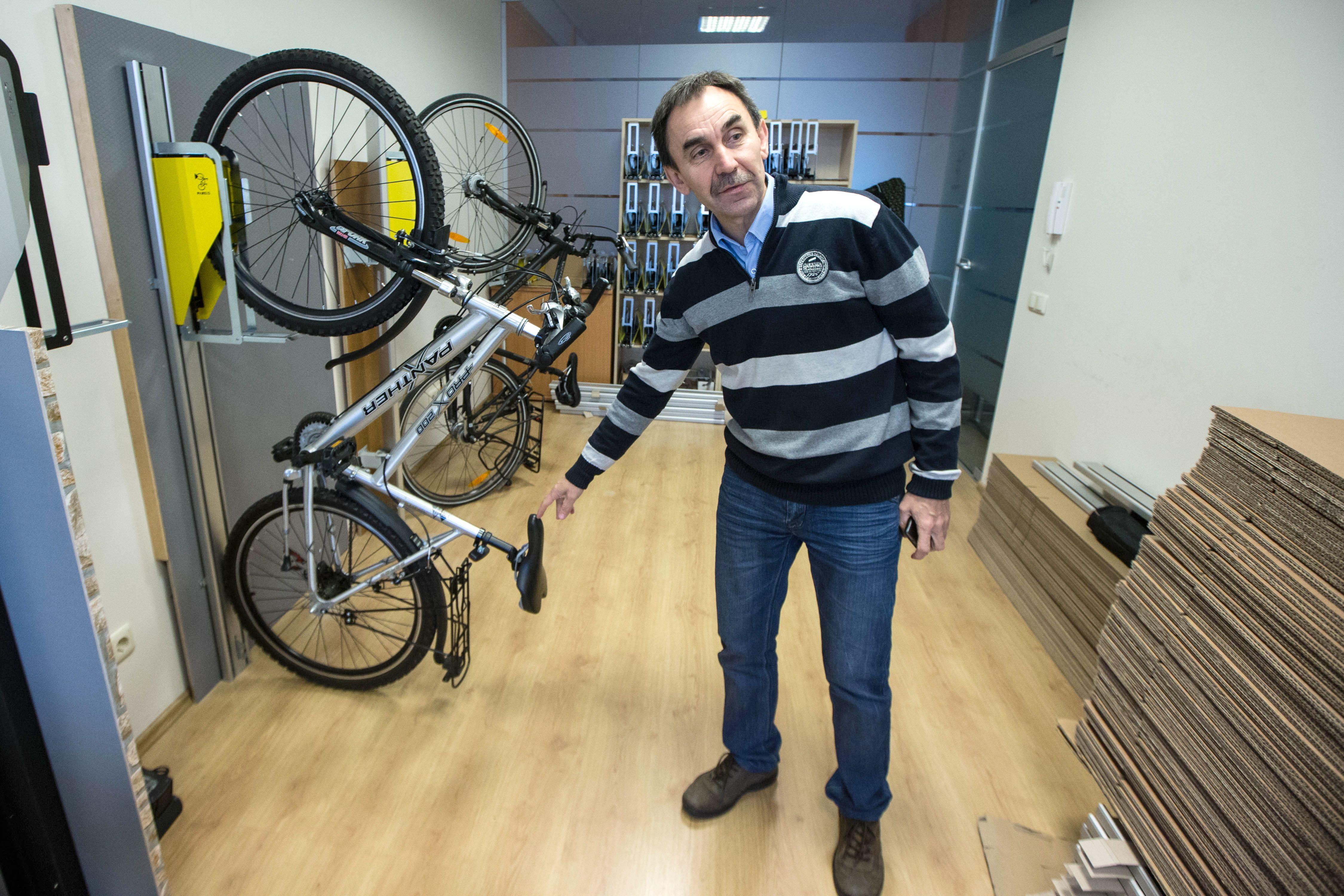 Lietuviai moko pasaulį dviračius statyti kitaip