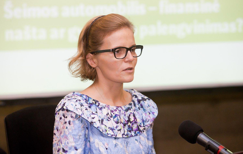 Julita Varanauskienė palieka SEB