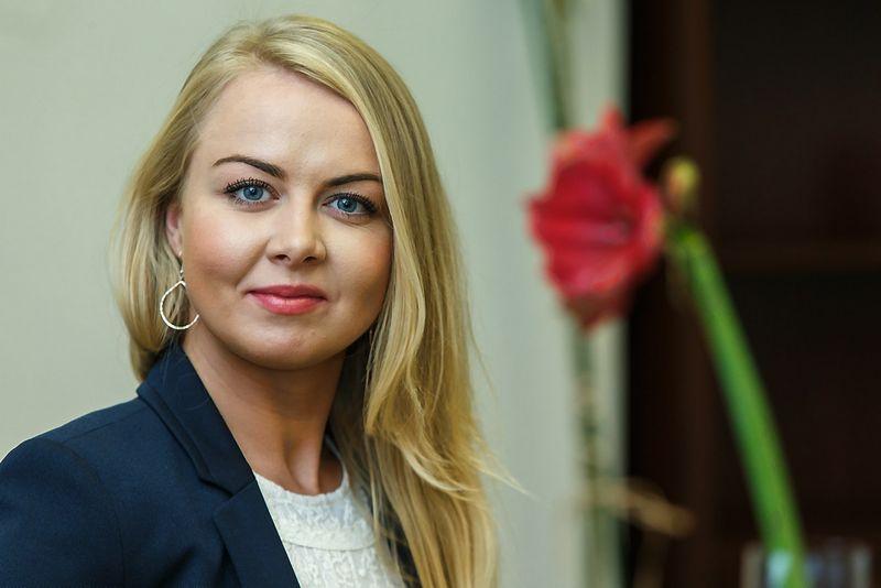 """Ieva Naujalytė, ryšių su visuomene agentūros """"Ad verum"""" direktorė. Vladimiro Ivanovo (VŽ) nuotr."""