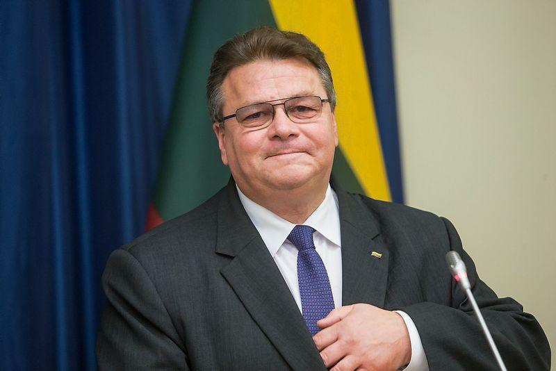 Linas Linkevičius, laikinasis Lietuvos užsienio reikalų ministras. Juditos Grigelytės (VŽ) nuotr.
