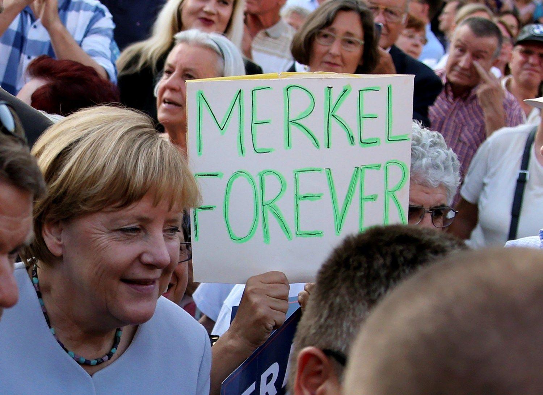 Merkel sieks ketvirtosios kadencijos