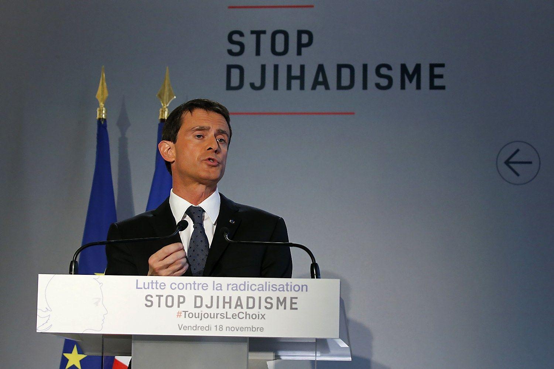 Prancūzijos premjeras norėtų siekti prezidento posto