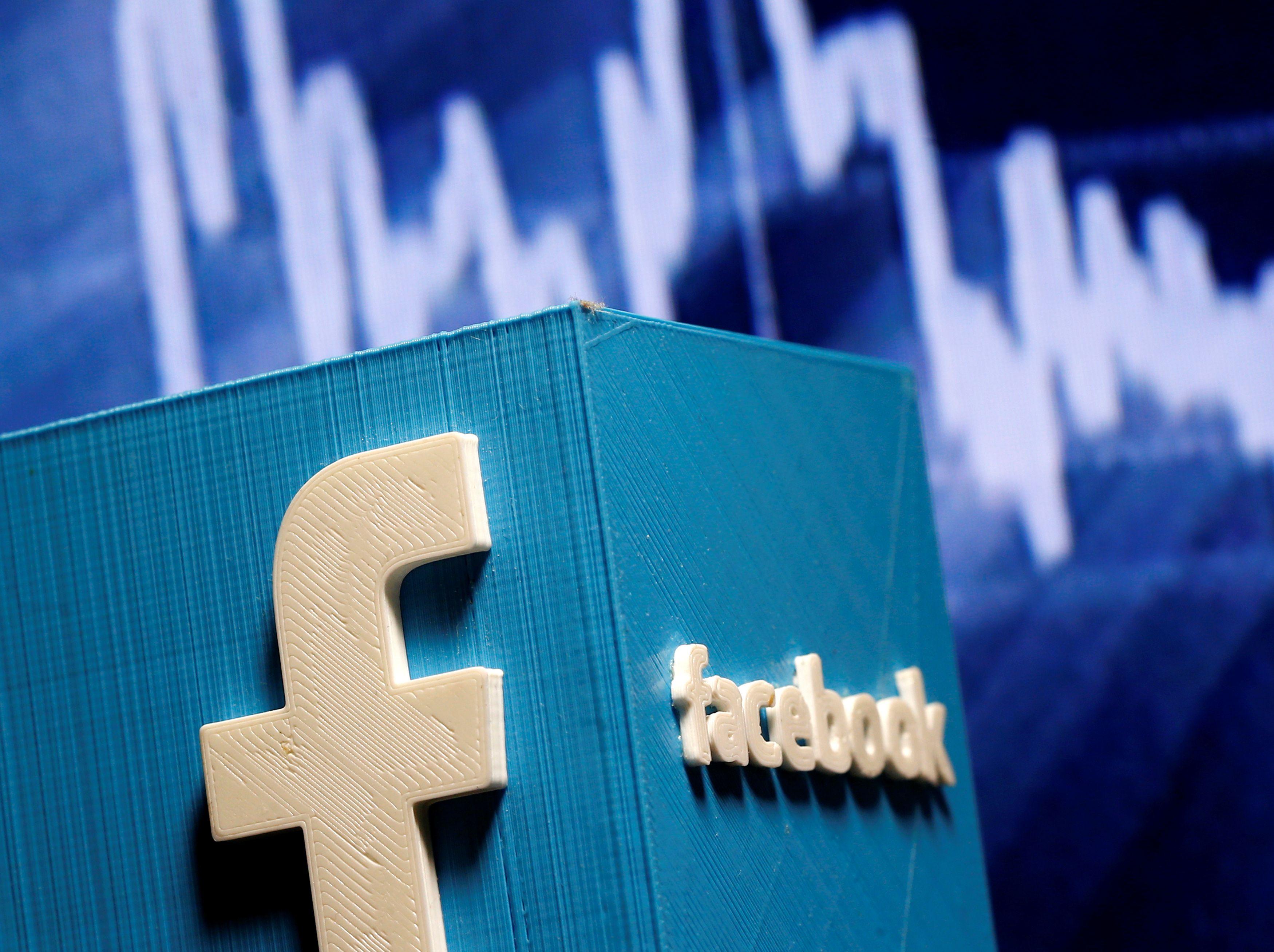 """Facebook"" palepins savo akcininkus"