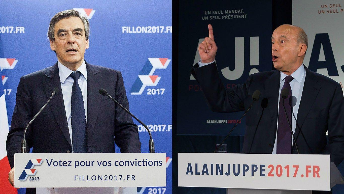 Prancūzų respublikonai turi du kandidatus į prezidento postą