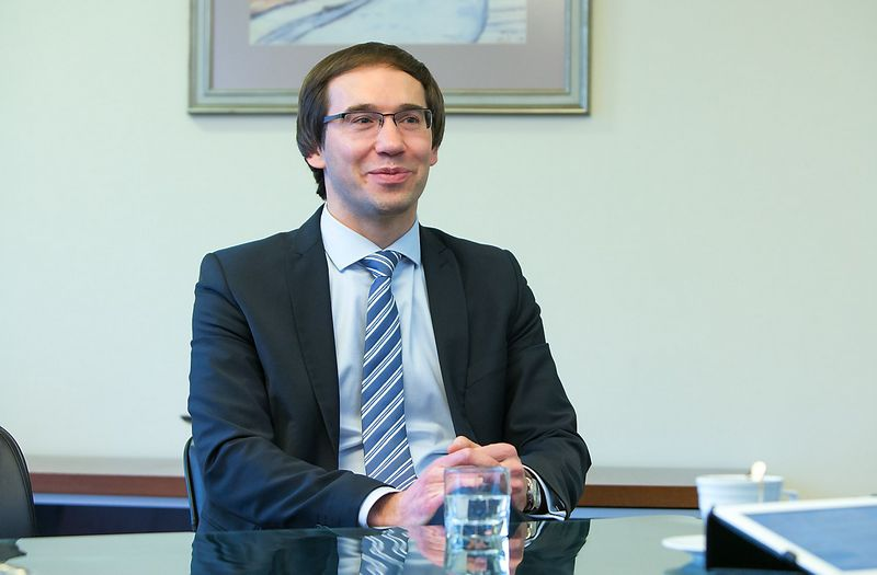 """Mantas Mikalajūnas, dujų tiekimo UAB """"Lietuvos dujų tiekimas"""" generalinis direktorius. Juditos Grigelytės (VŽ) nuotr."""