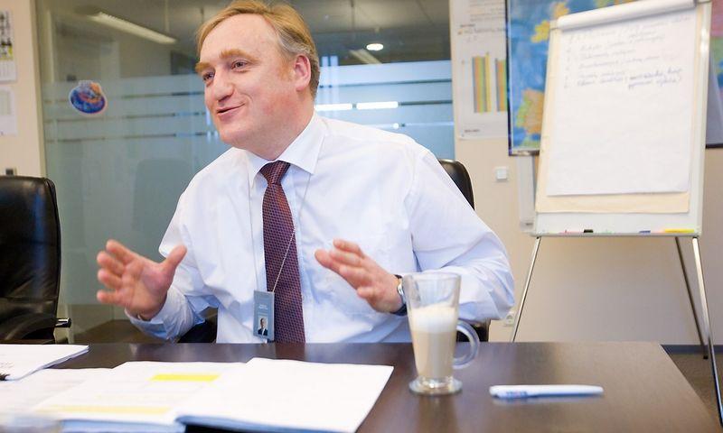 Mindaugas Bagdonavičius, buvęs VP grupės akcininkas. Vladimiro Ivanovo (VŽ) nuotr.